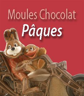 Moules Chocolat Pâques